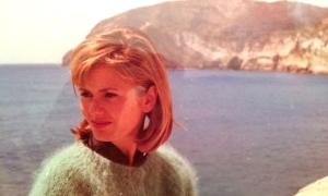 1-Barbara on Amalfi Coast 1964