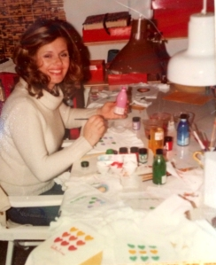 2-Barbara painting hearts